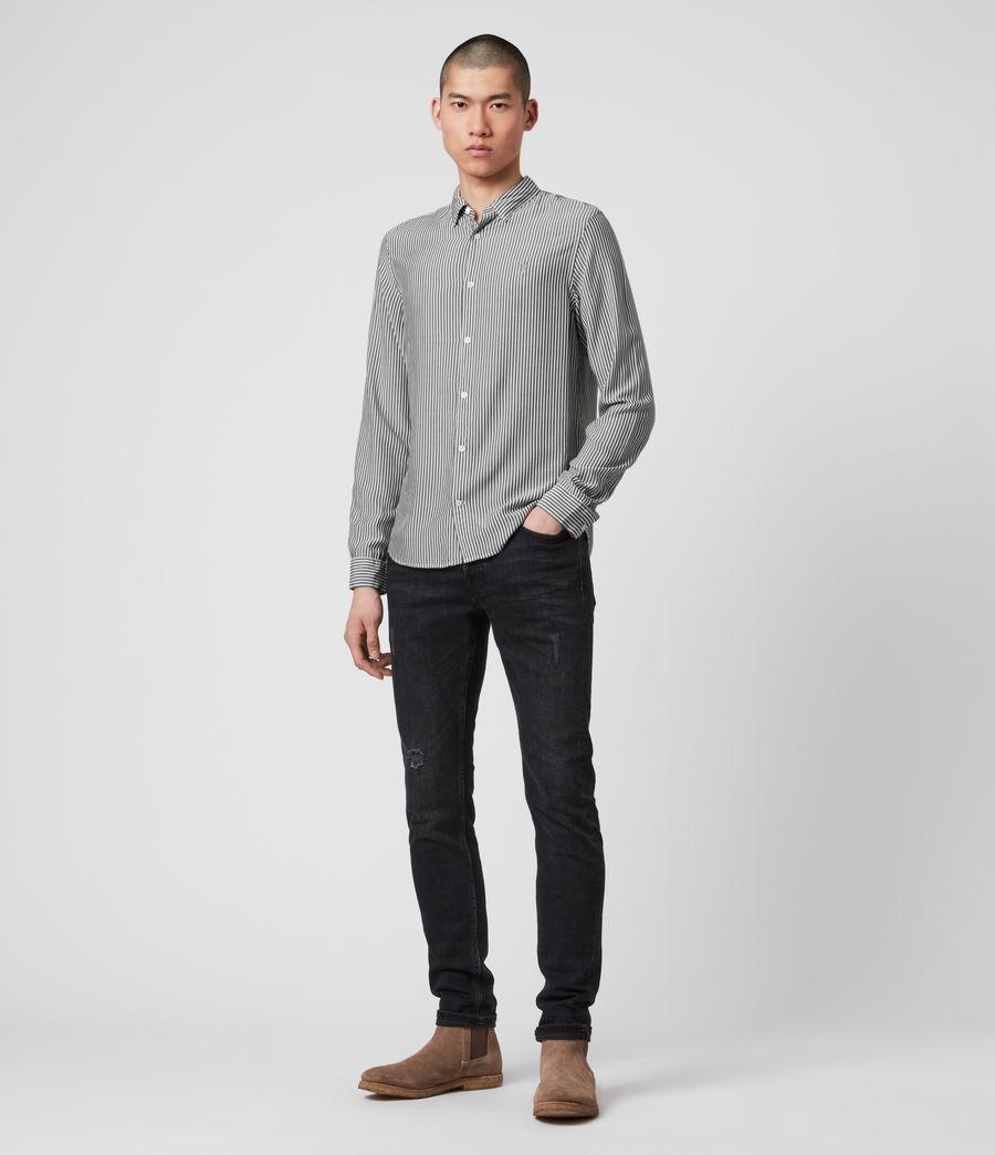Hombre Stanton Shirt (white_black) - Image 3