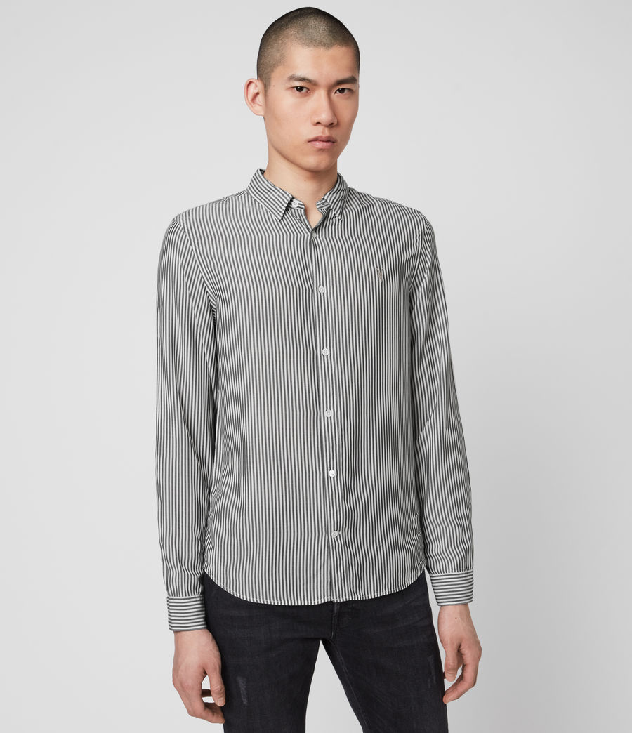 Hombre Stanton Shirt (white_black) - Image 4