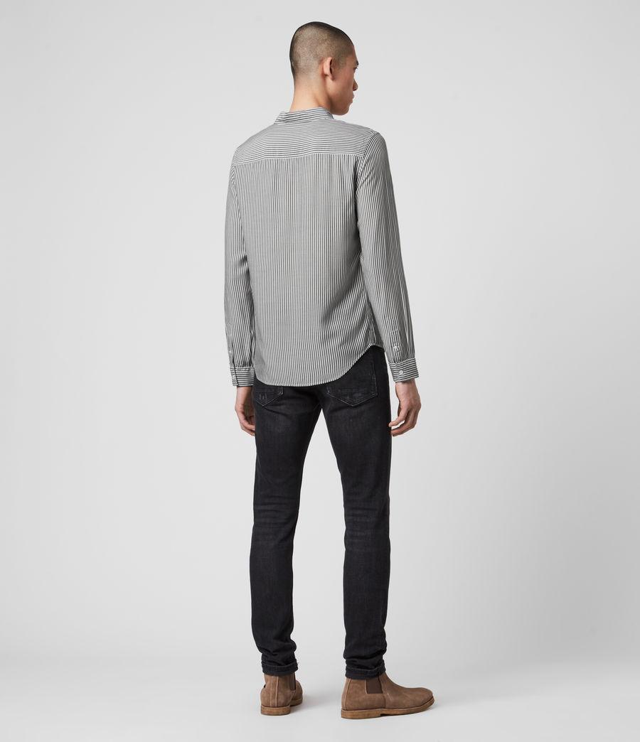 Hombre Stanton Shirt (white_black) - Image 5