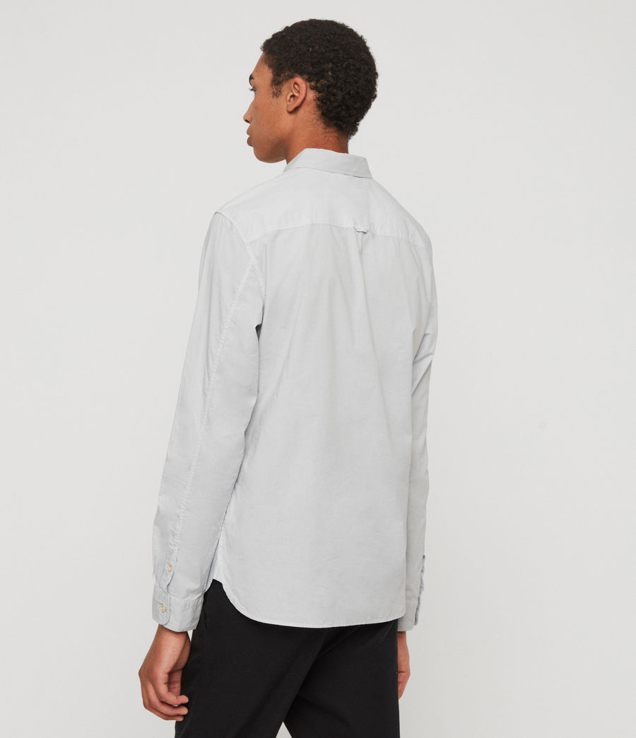 Mens Prospect Shirt (light_grey) - Image 5