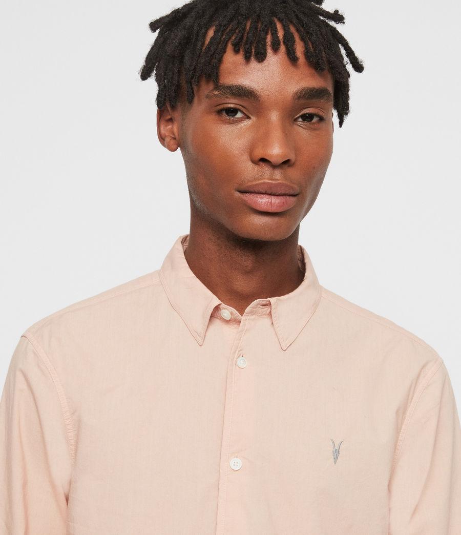 Hombres Camisa de Manga Larga Prospect (pink) - Image 2