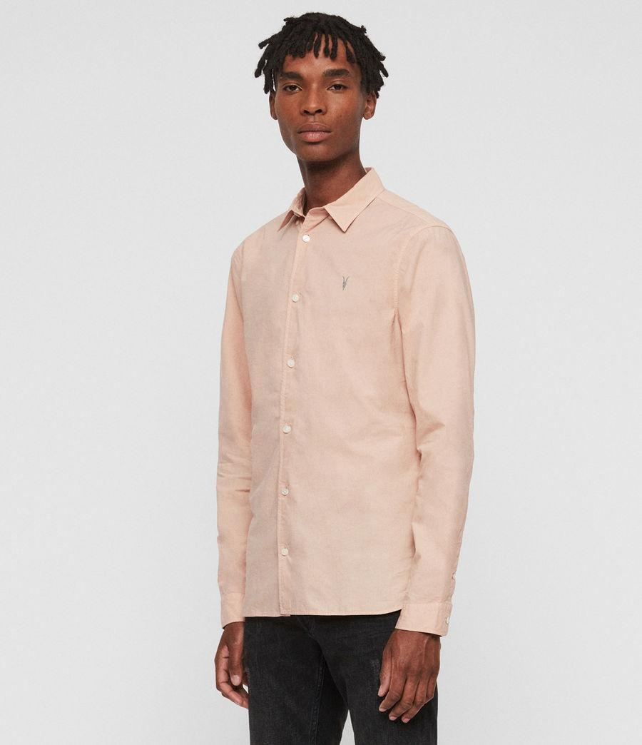 Hombres Camisa de Manga Larga Prospect (pink) - Image 3