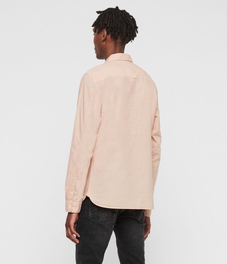 Hombres Camisa de Manga Larga Prospect (pink) - Image 5