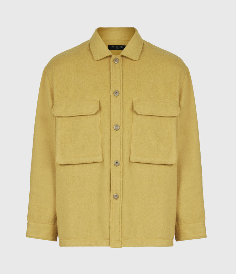 Mens Colton Shirt (yellow) - Image 2