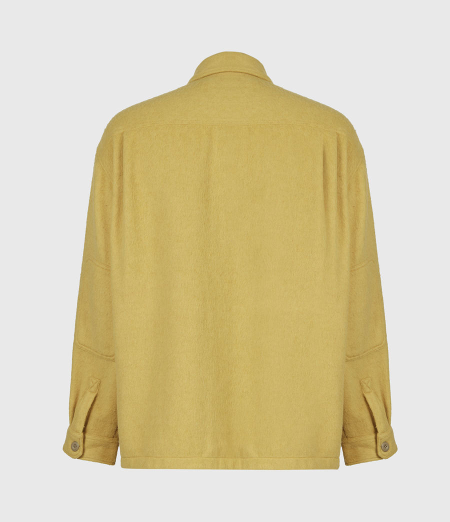 Mens Colton Shirt (yellow) - Image 3