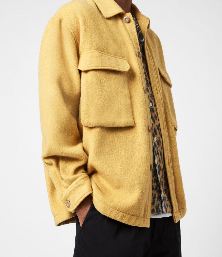 Mens Colton Shirt (yellow) - Image 4