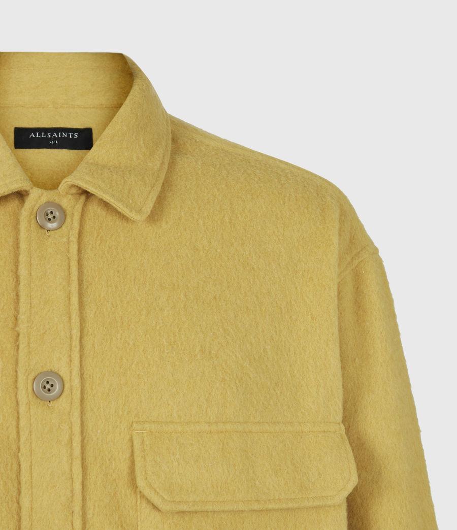 Mens Colton Shirt (yellow) - Image 5