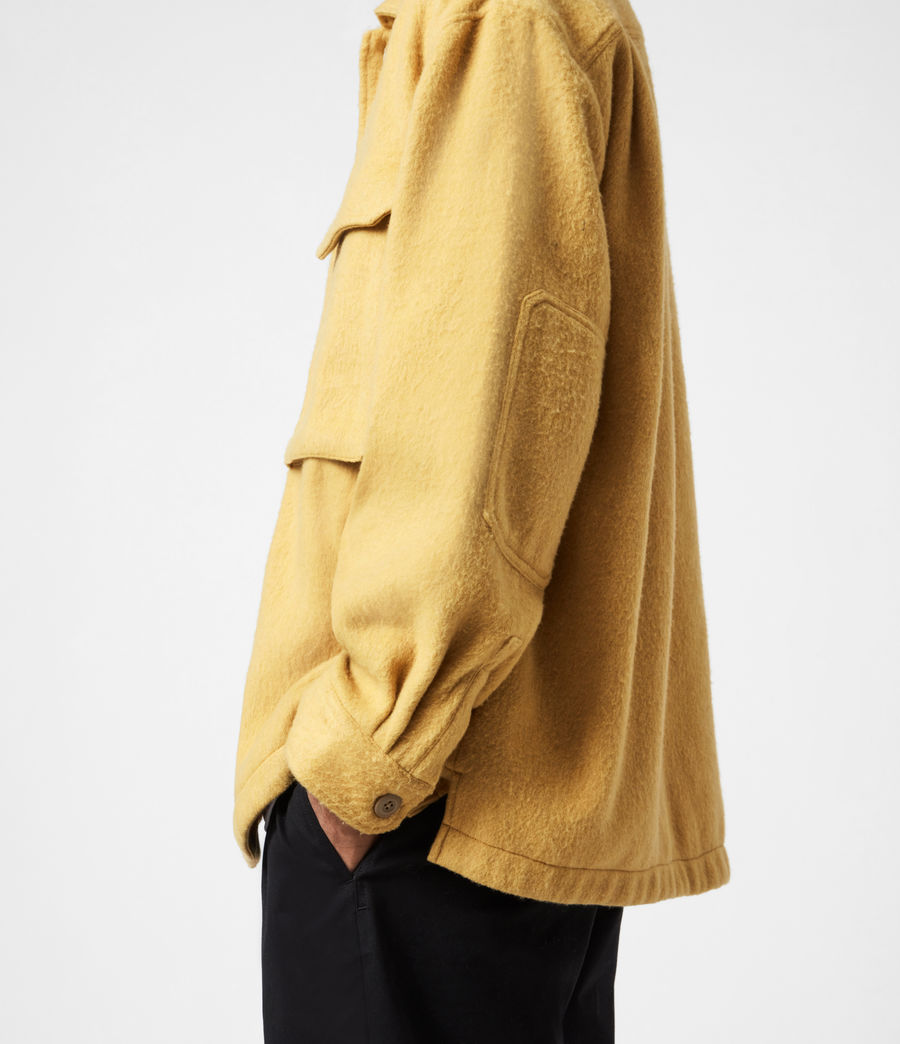 Mens Colton Shirt (yellow) - Image 6