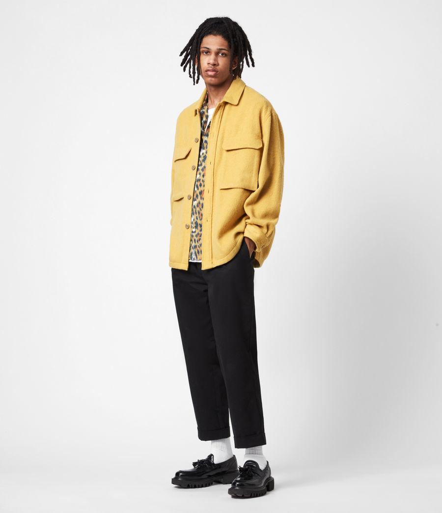 Mens Colton Shirt (yellow) - Image 7