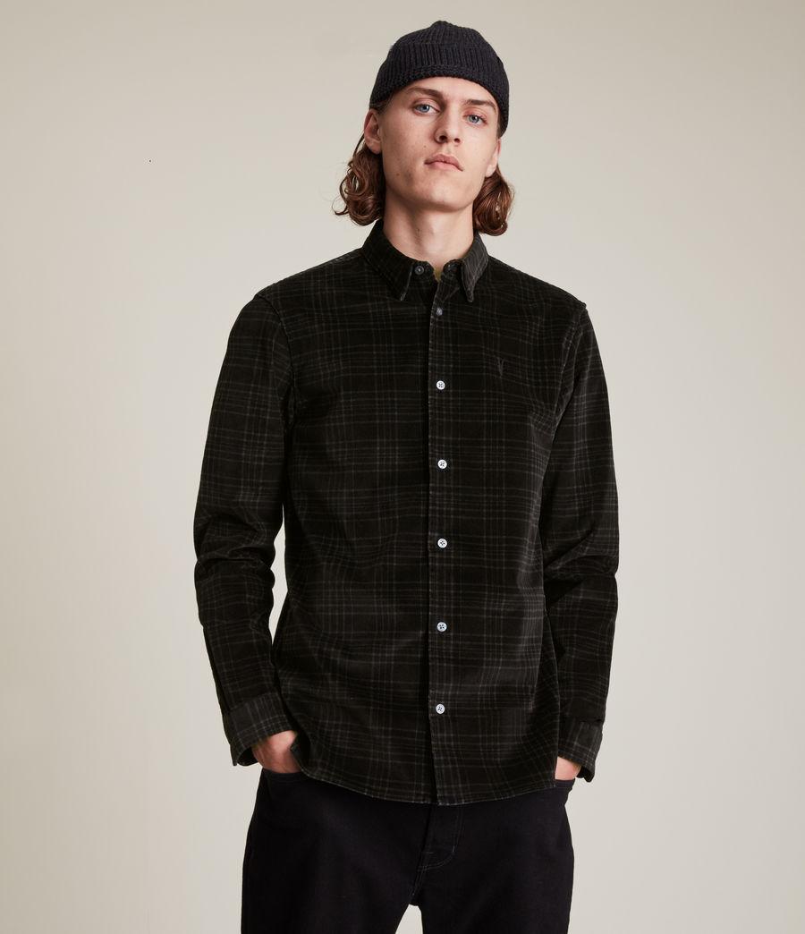 Men's Seward Shirt (black) - Image 1