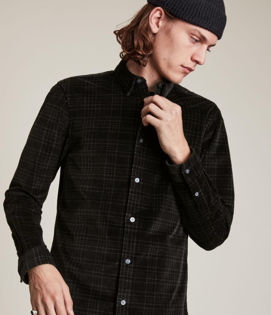 Men's Seward Shirt (black) - Image 2