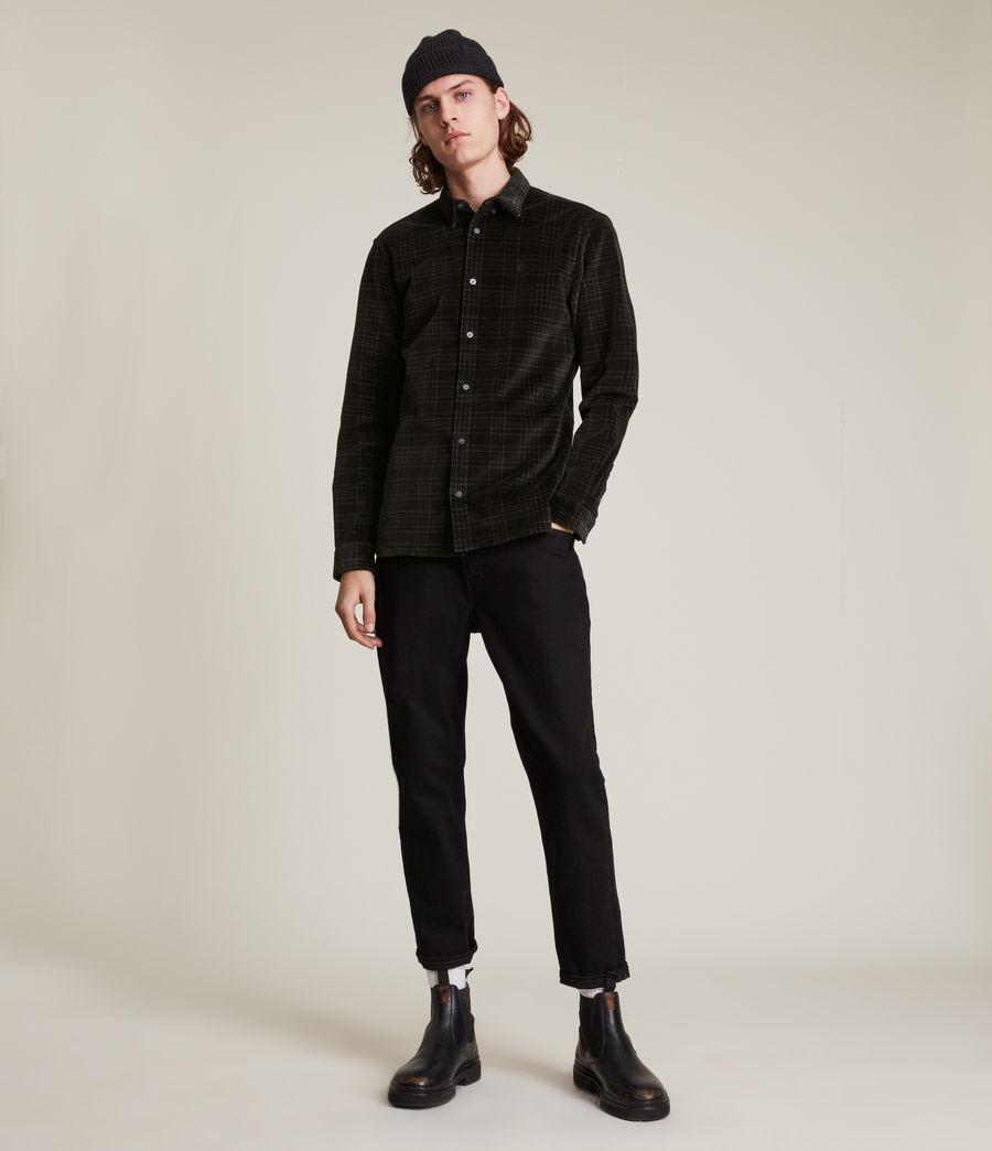 Men's Seward Shirt (black) - Image 3