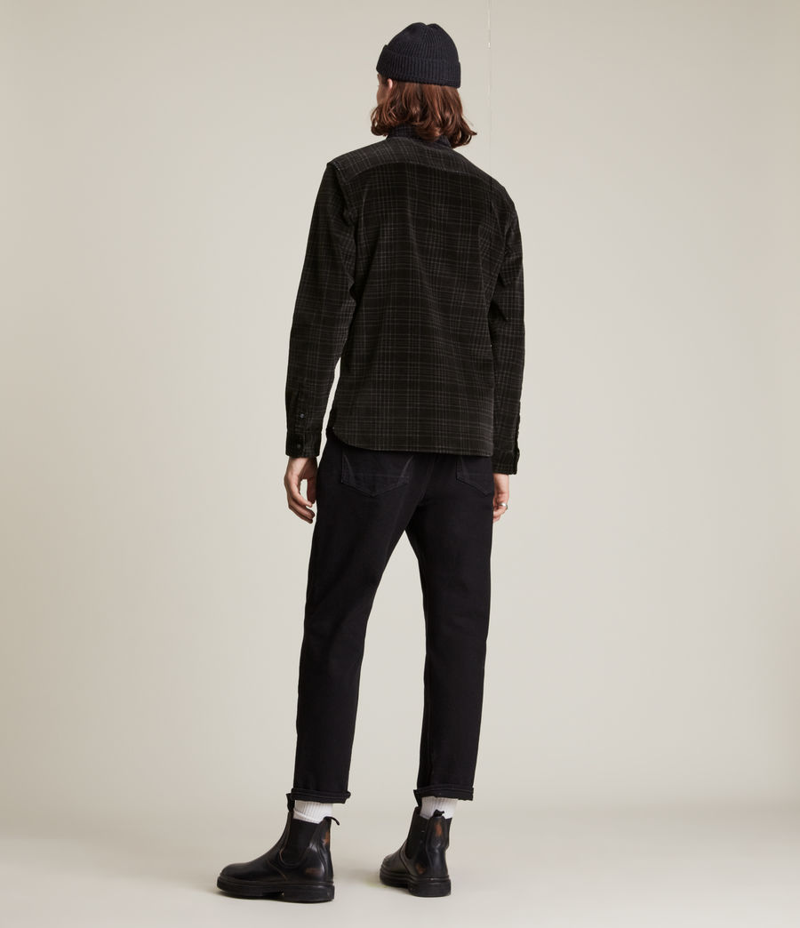 Men's Seward Shirt (black) - Image 4