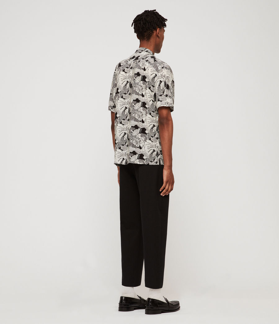Men's Mauna Shirt (ecru) - Image 4