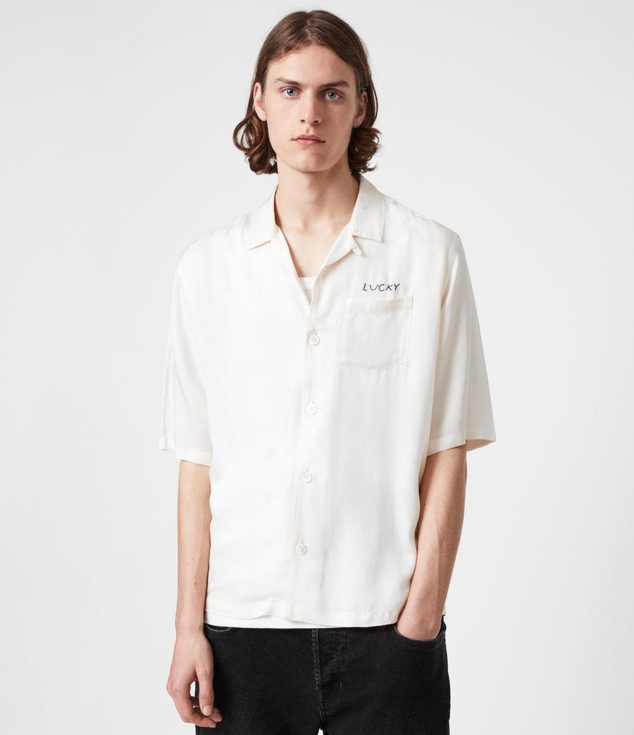 Men's Lucky Shirt (white) - Image 4