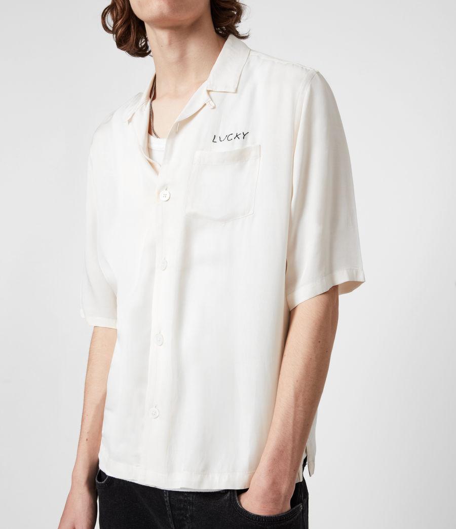 Men's Lucky Shirt (white) - Image 6