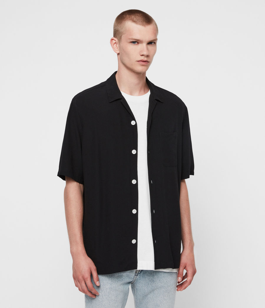 Mens Kiowa Shirt (jet_black) - Image 1