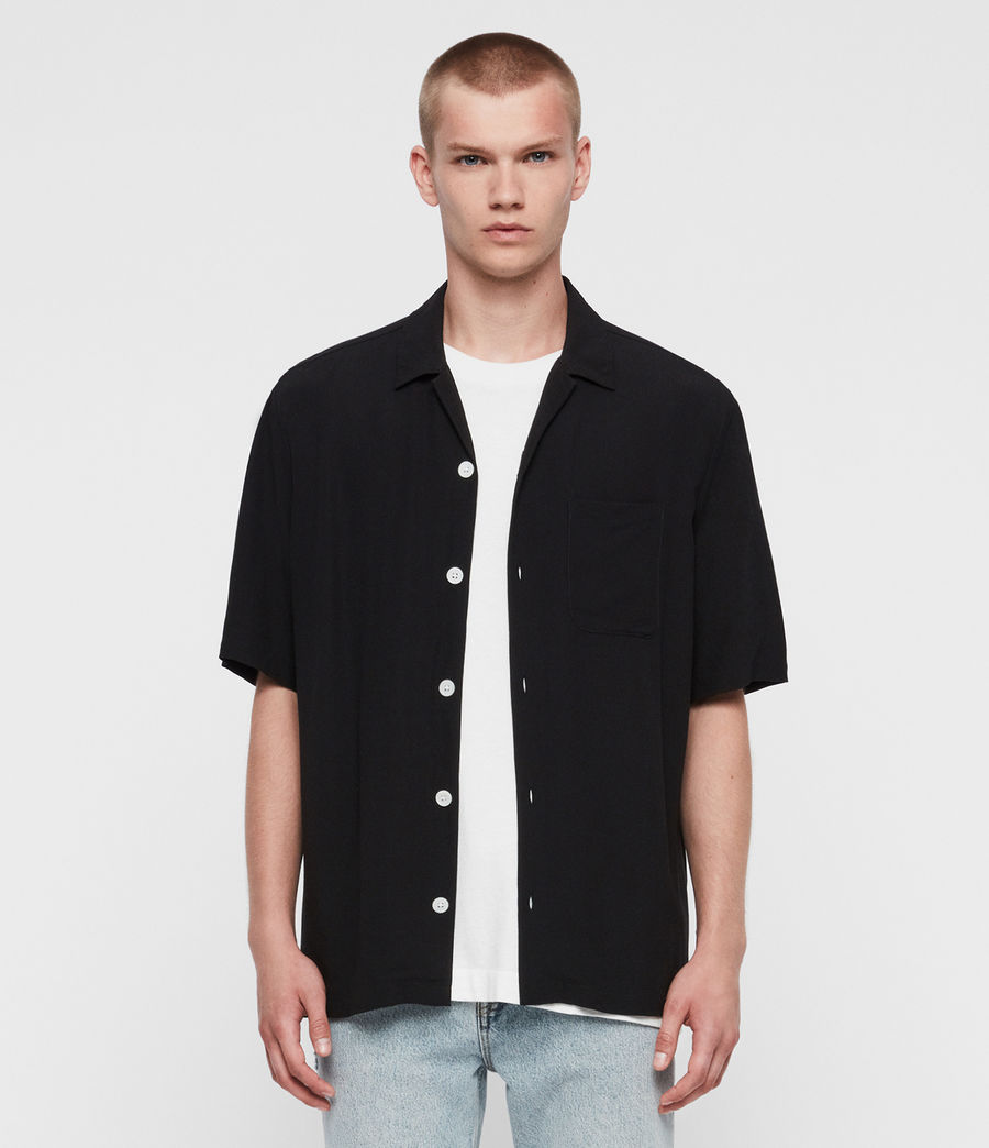 Mens Kiowa Shirt (jet_black) - Image 3