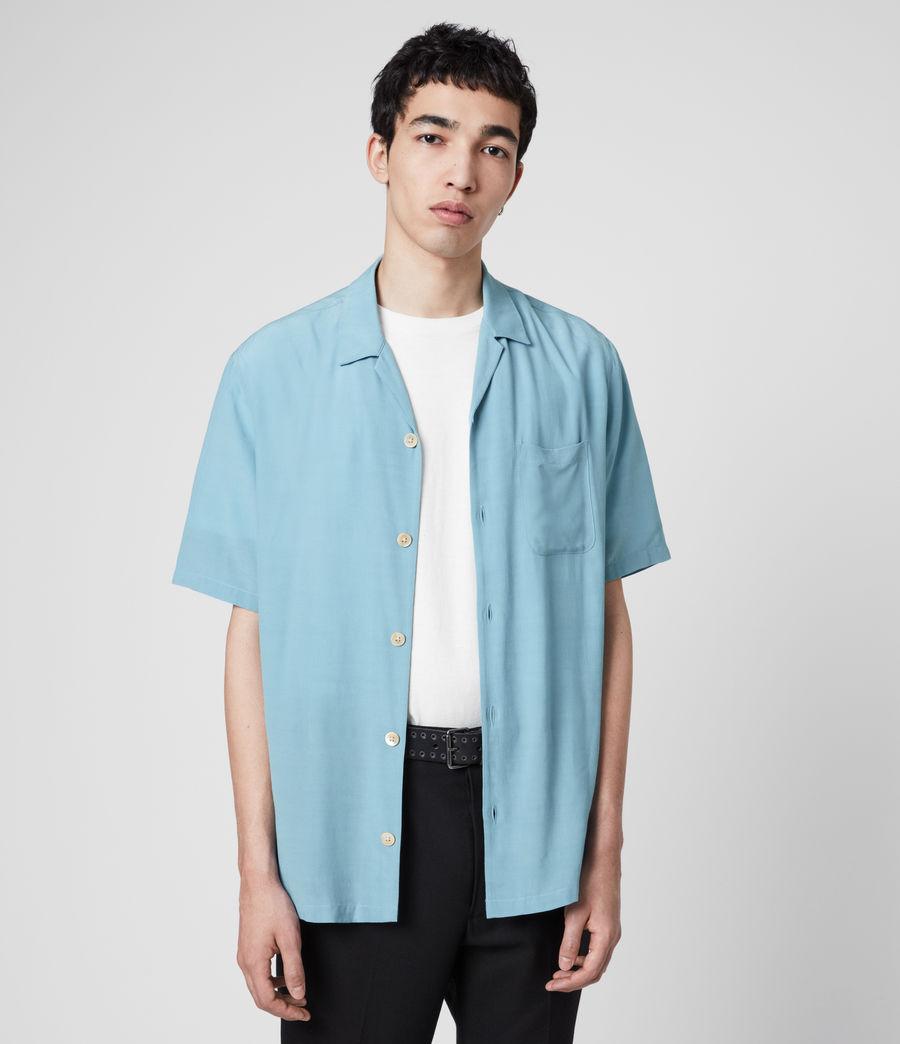 Mens Kiowa Shirt (lake_blue) - Image 1