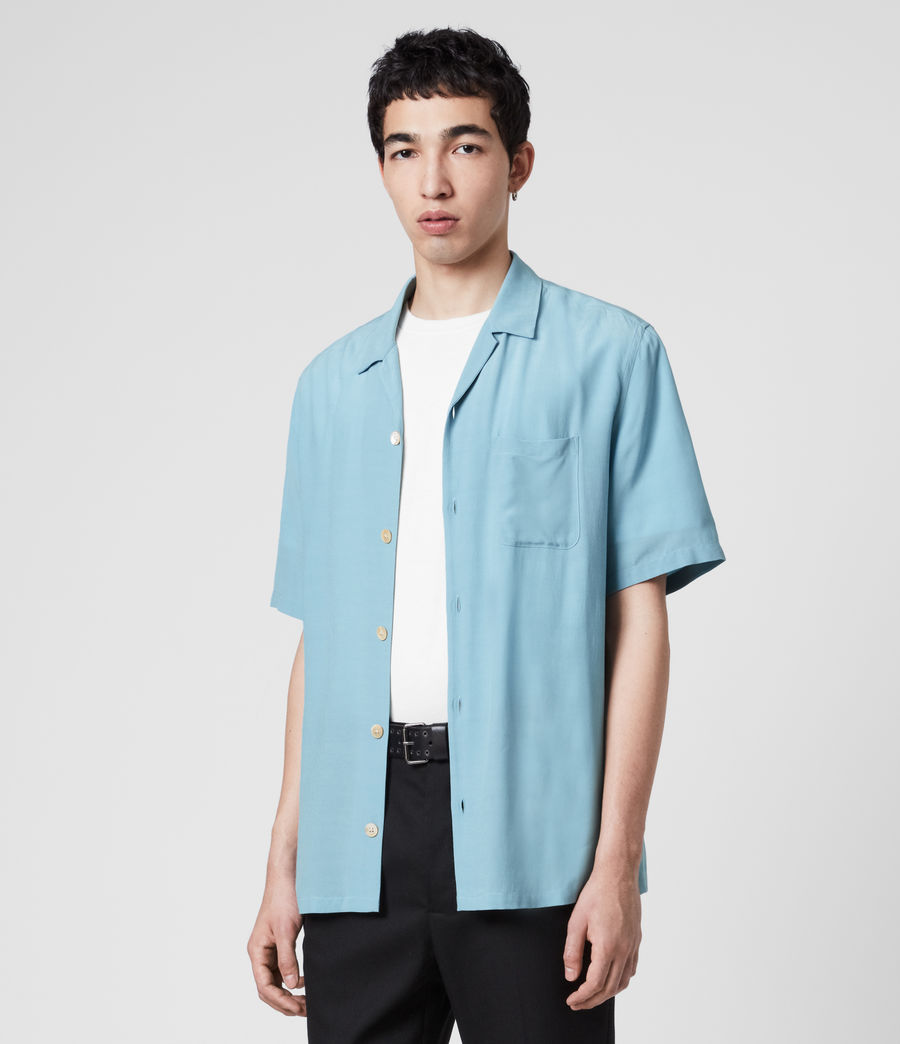 Hombre Kiowa Shirt (lake_blue) - Image 3