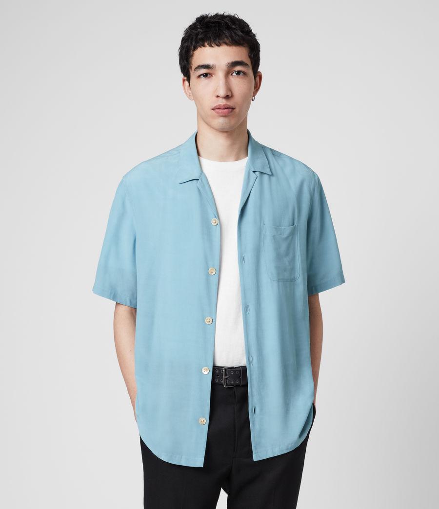 Mens Kiowa Shirt (lake_blue) - Image 4