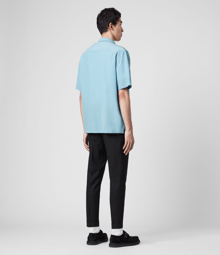 Mens Kiowa Shirt (lake_blue) - Image 5