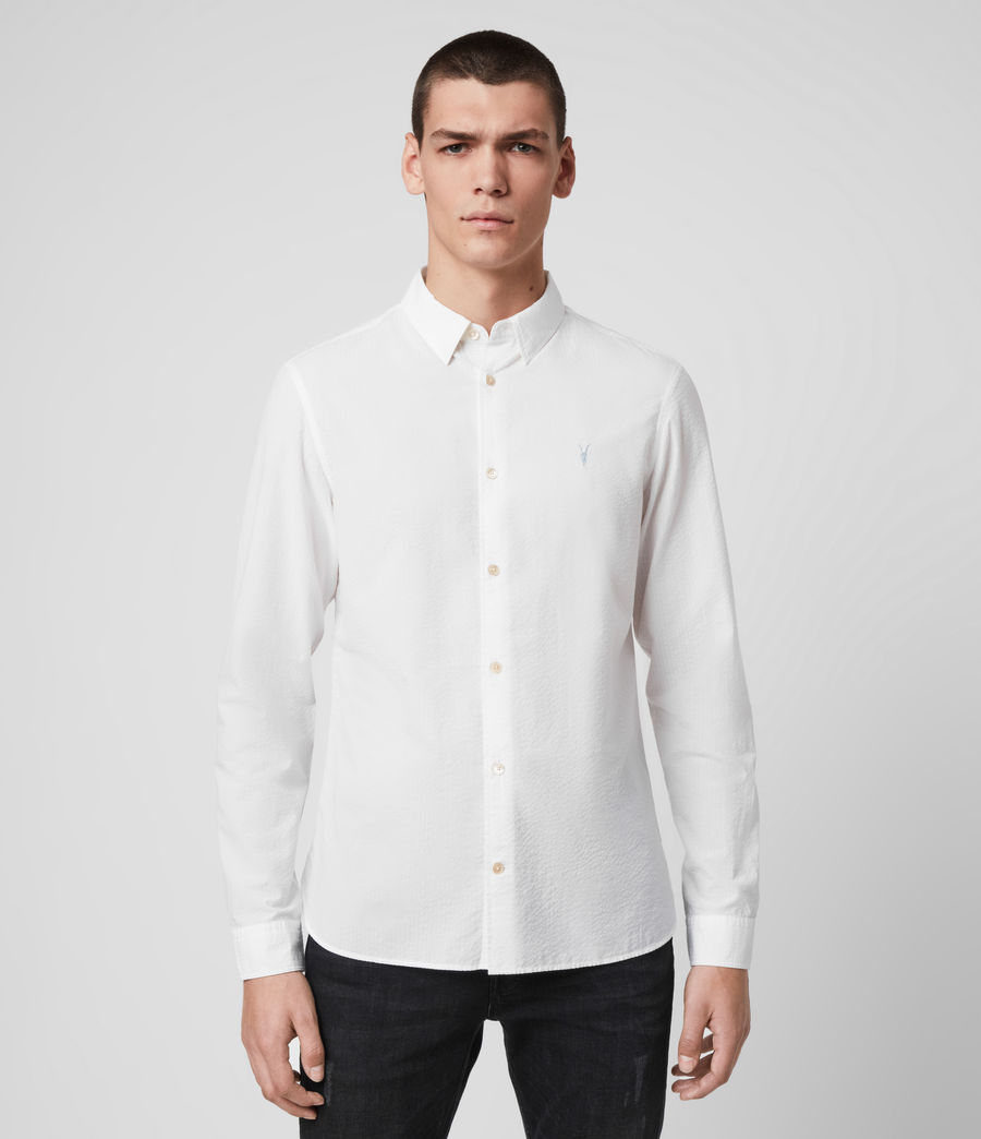 Hombres Ivy Shirt (white) - Image 1