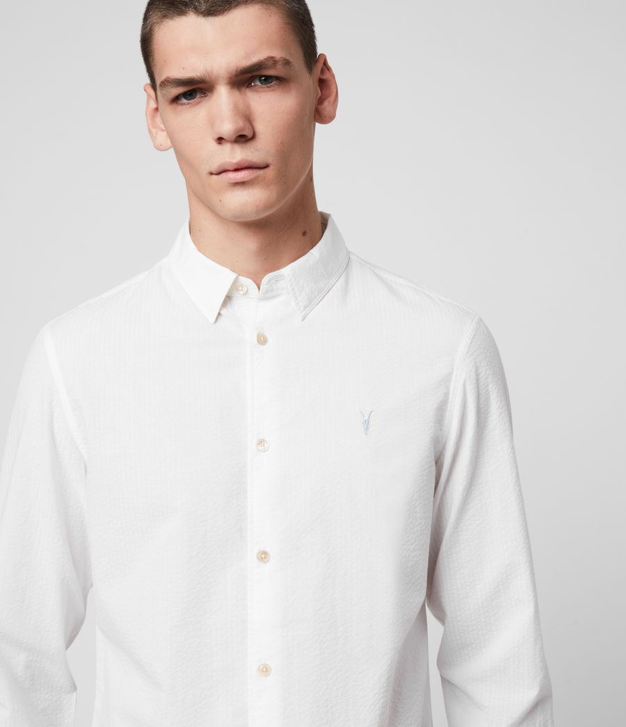 Hombre Ivy Shirt (white) - Image 2