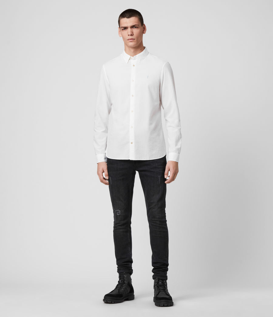Hombres Ivy Shirt (white) - Image 3