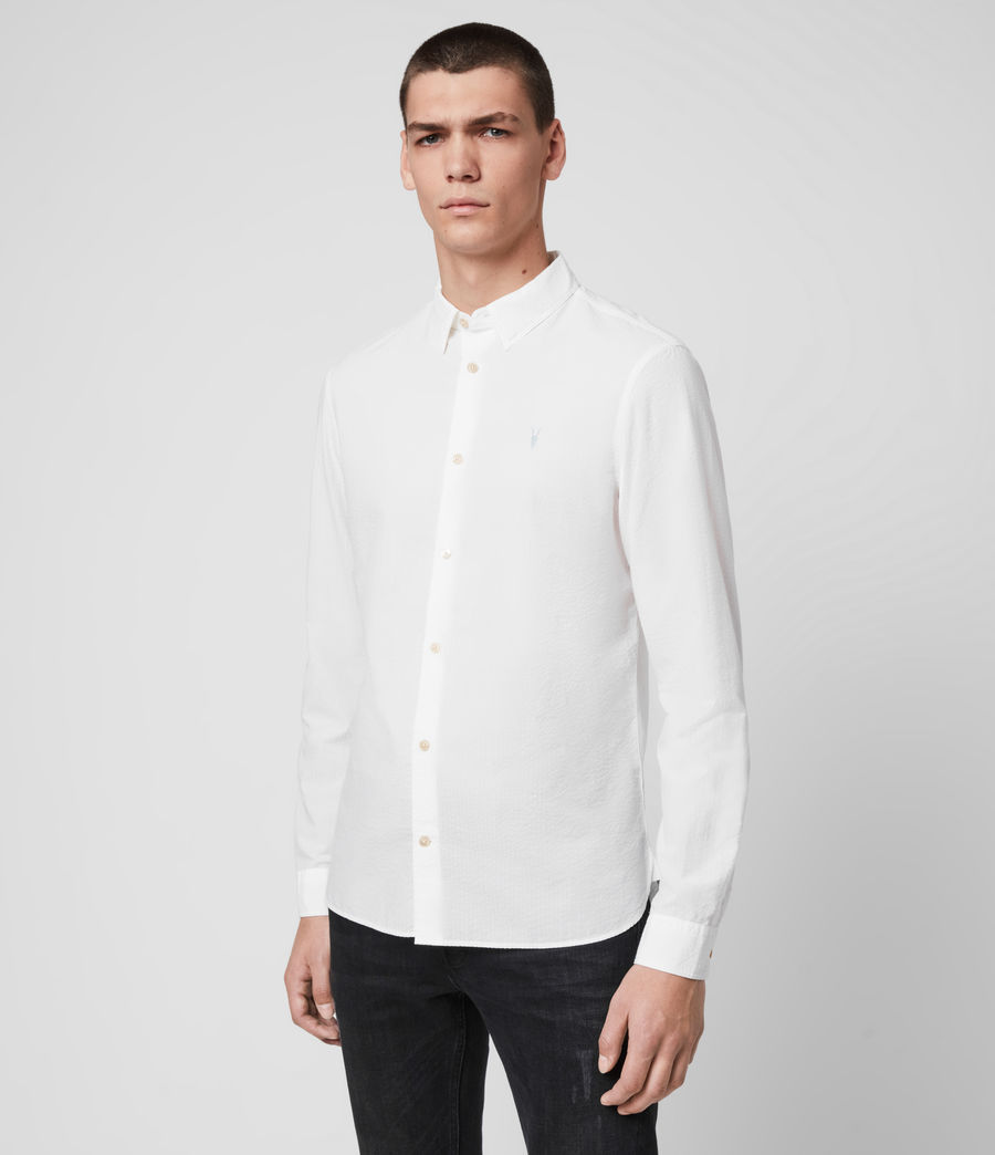 Hombre Ivy Shirt (white) - Image 4