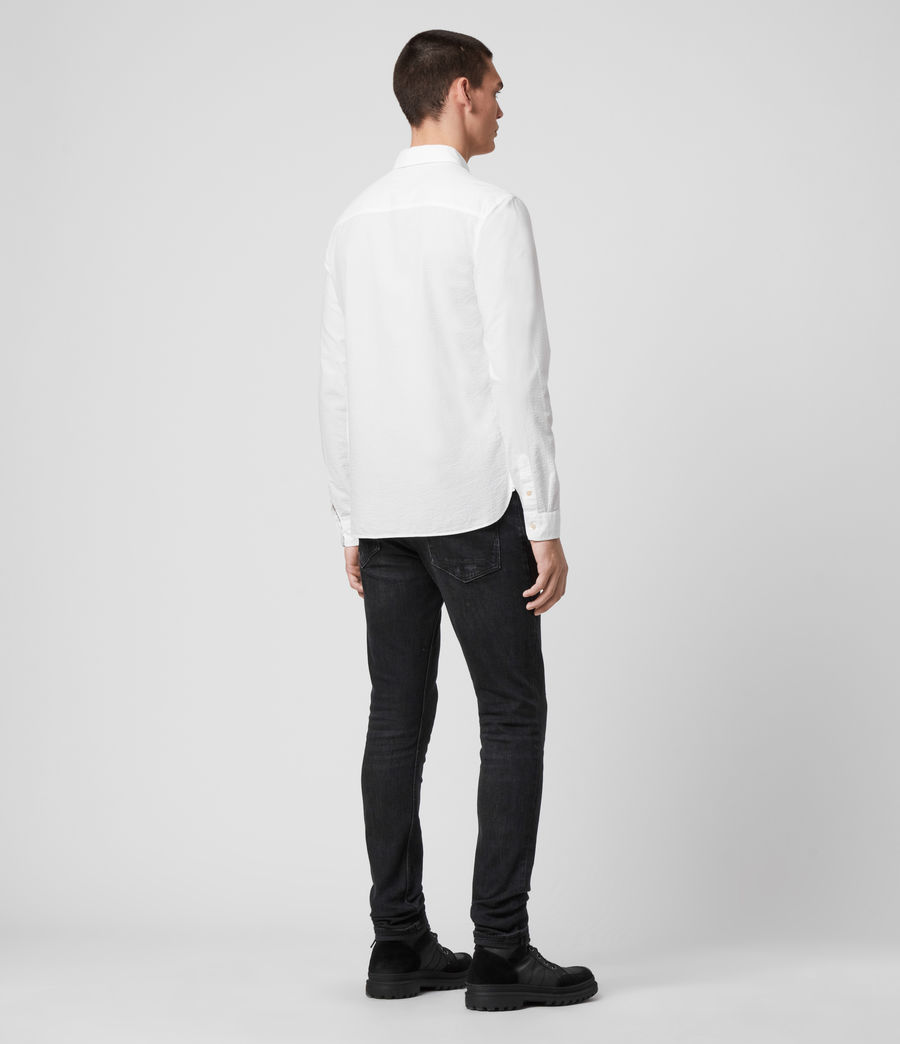 Hombres Ivy Shirt (white) - Image 5