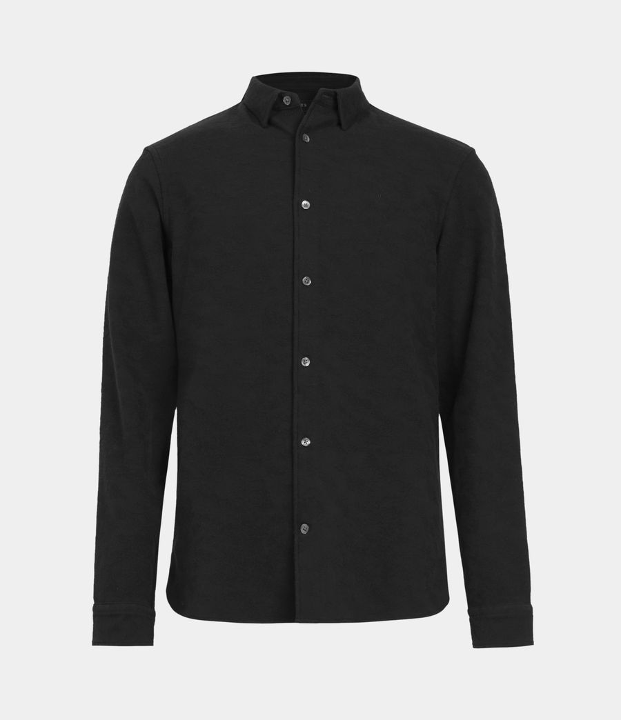 Men's Martial Shirt (jet_black) - Image 2