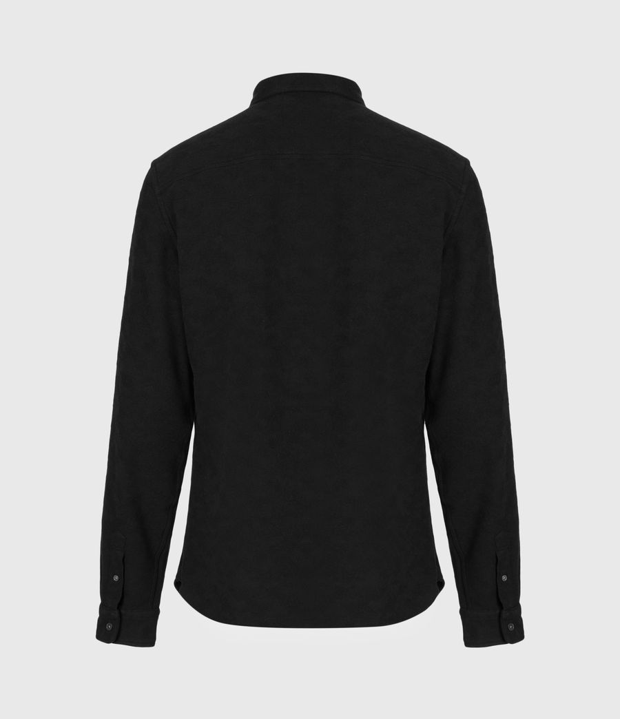 Men's Martial Shirt (jet_black) - Image 3
