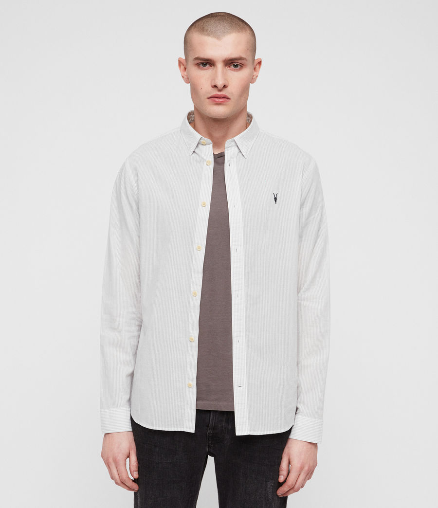 Men's Canby Shirt (off_white_ink) - Image 1