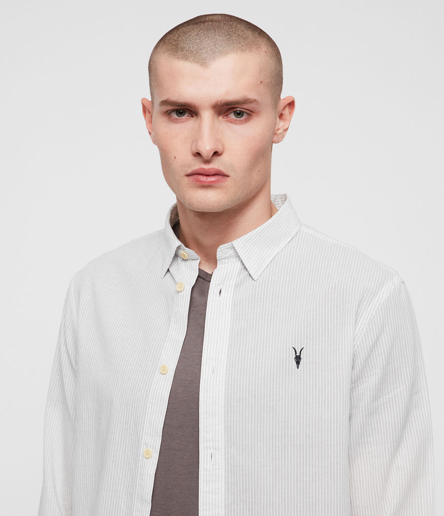 Men's Canby Shirt (off_white_ink) - Image 2