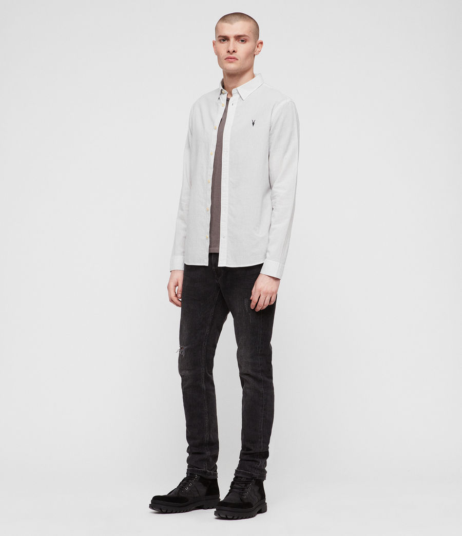 Men's Canby Shirt (off_white_ink) - Image 3