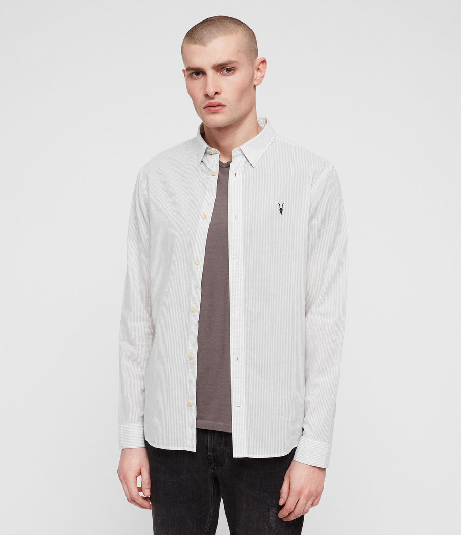 Men's Canby Shirt (off_white_ink) - Image 4
