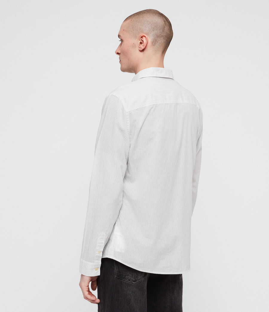 Men's Canby Shirt (off_white_ink) - Image 5