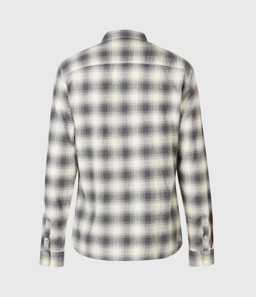 Uomo Dogwood Shirt (ecru_charcoal) - Image 3