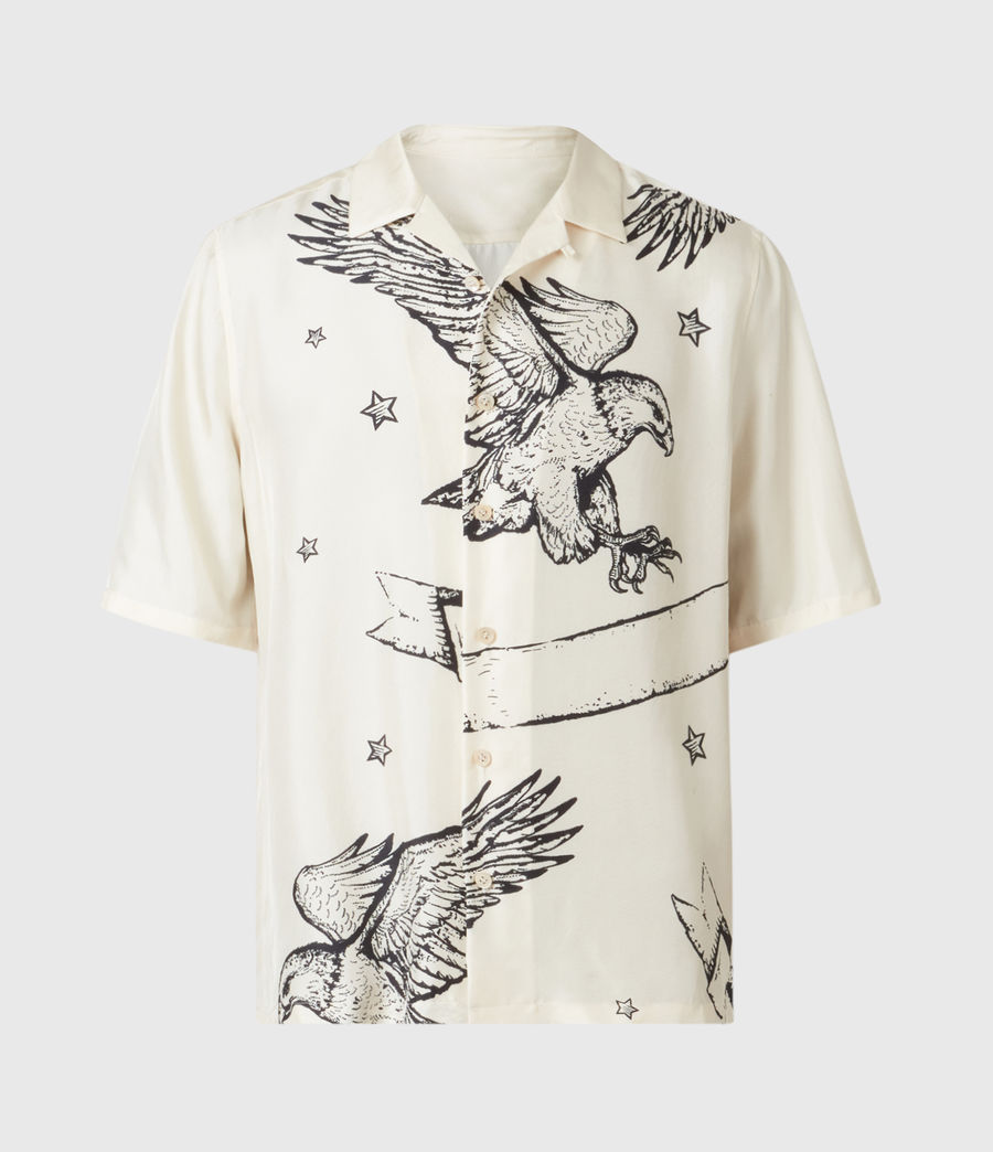 Mens Otis Eagle Shirt (chalk) - Image 2