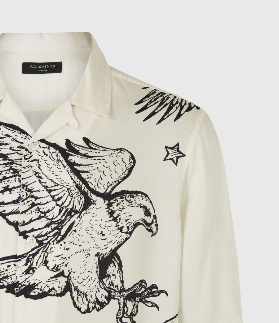 Mens Otis Eagle Shirt (chalk) - Image 5