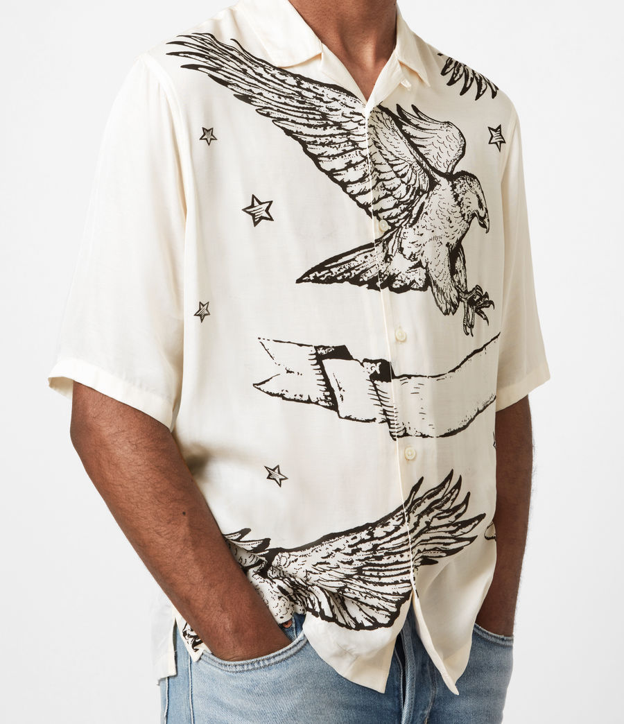 Mens Otis Eagle Shirt (chalk) - Image 6