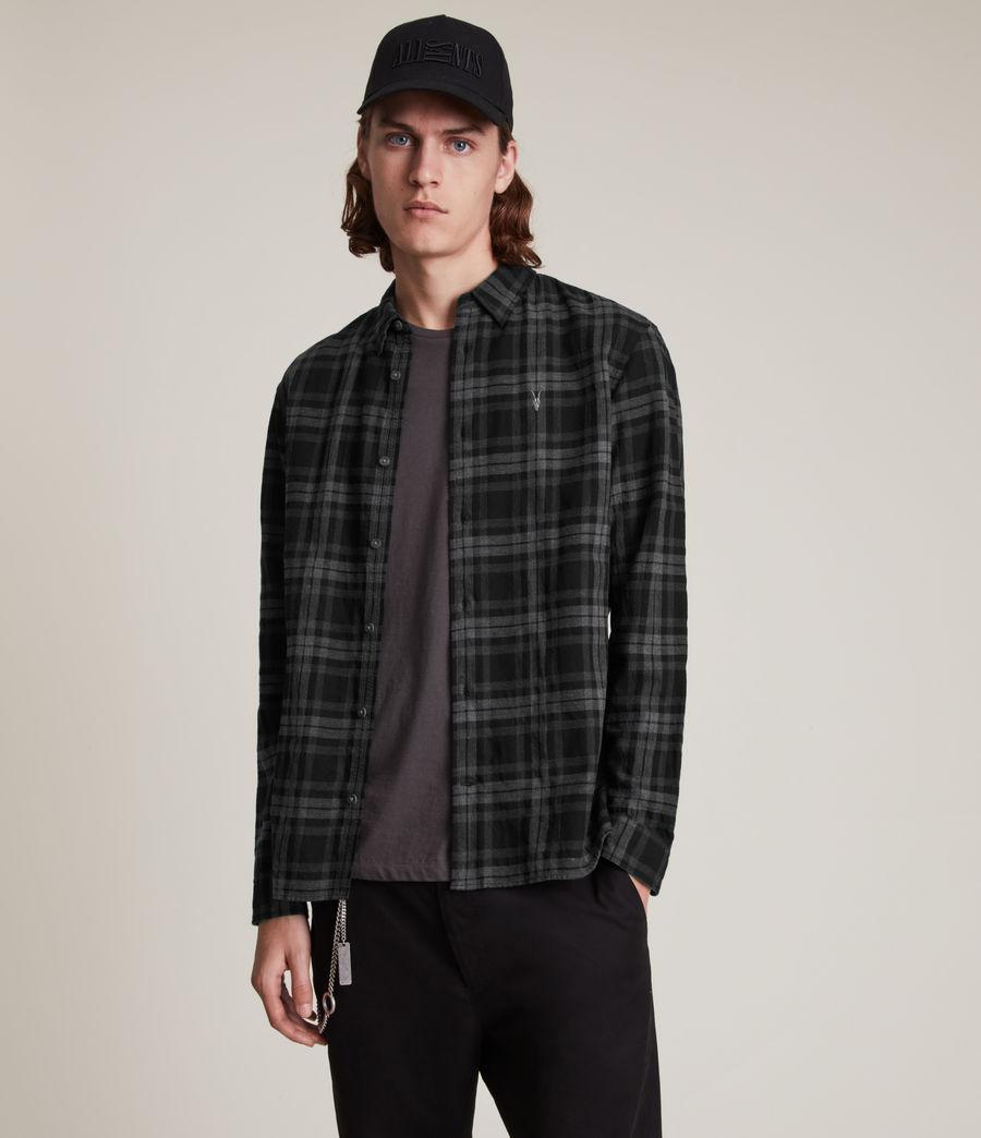 Mens Cortland Shirt (black) - Image 1