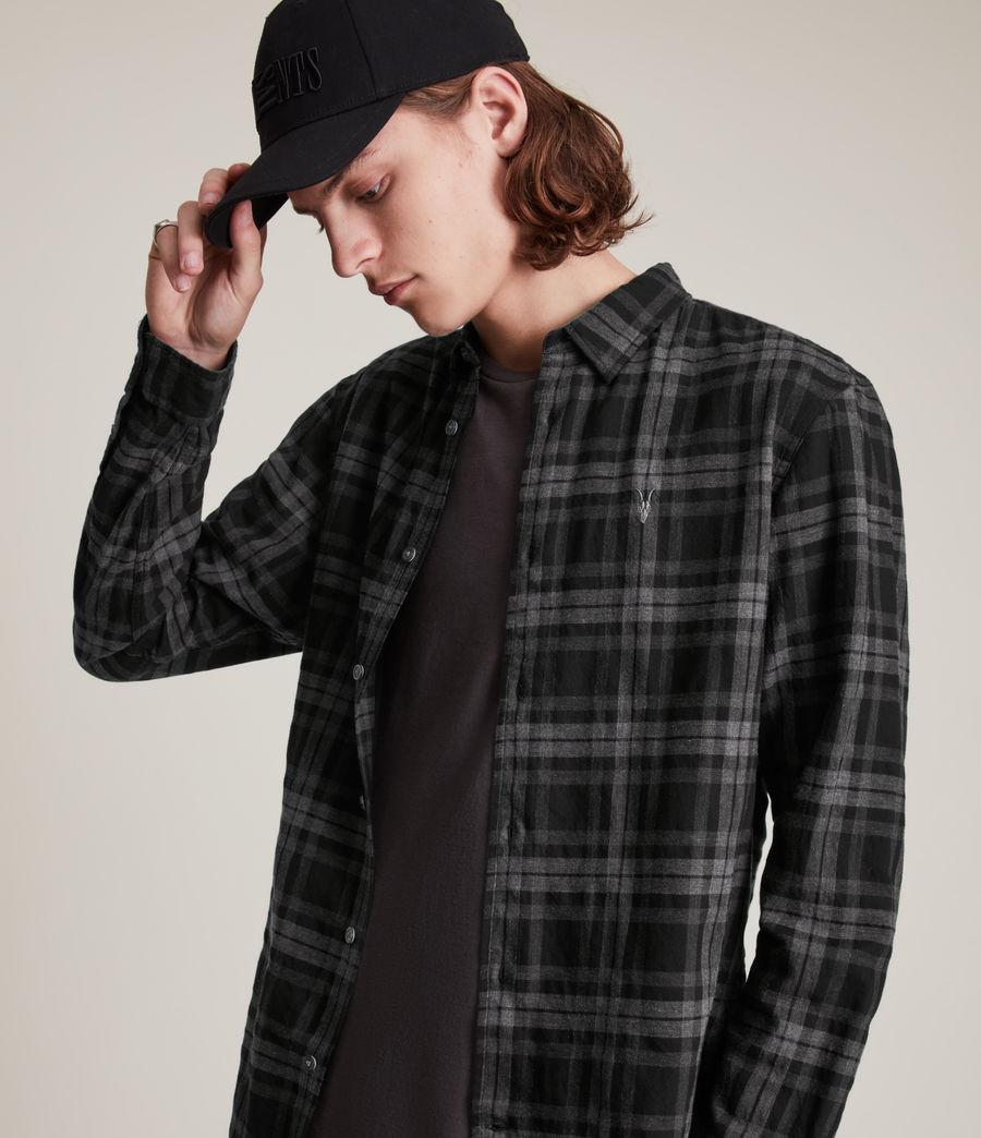 Mens Cortland Shirt (black) - Image 2