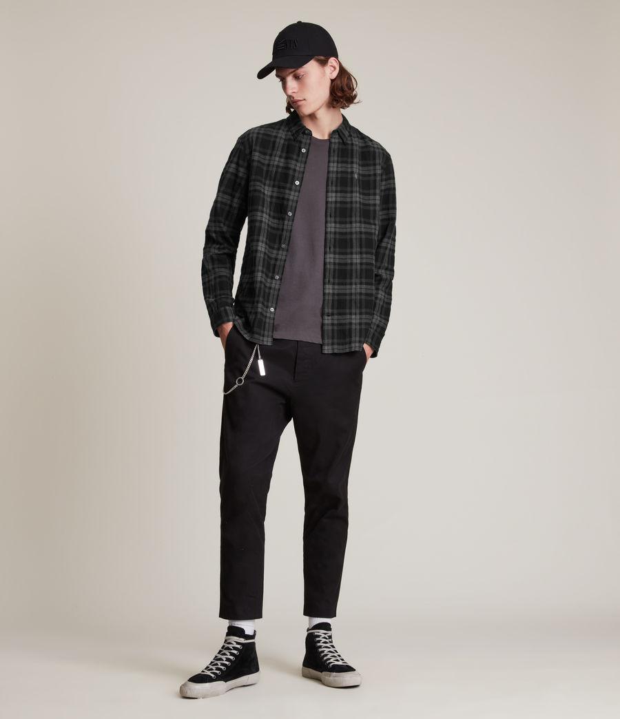 Mens Cortland Shirt (black) - Image 3