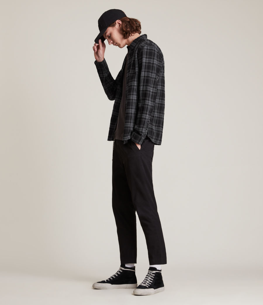 Mens Cortland Shirt (black) - Image 4
