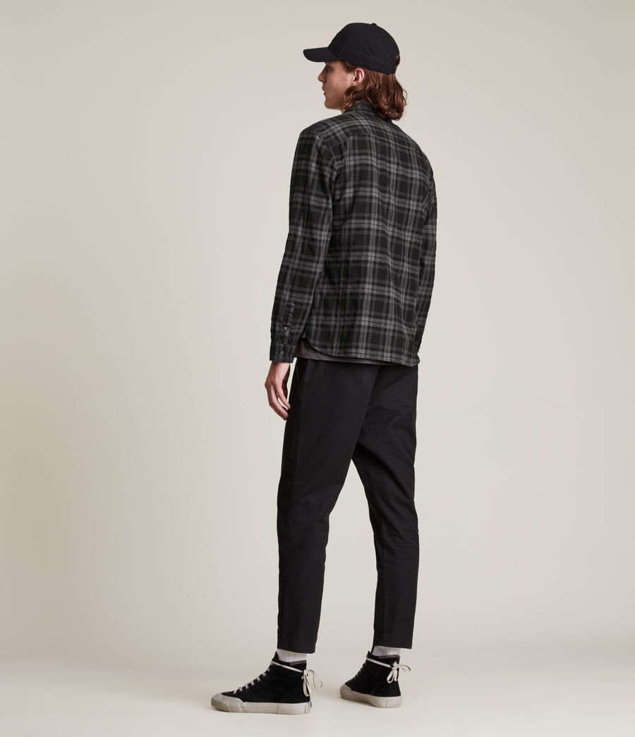 Mens Cortland Shirt (black) - Image 5