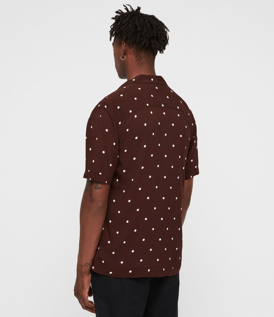 Mens Kuta Shirt (oxblood_red) - Image 5
