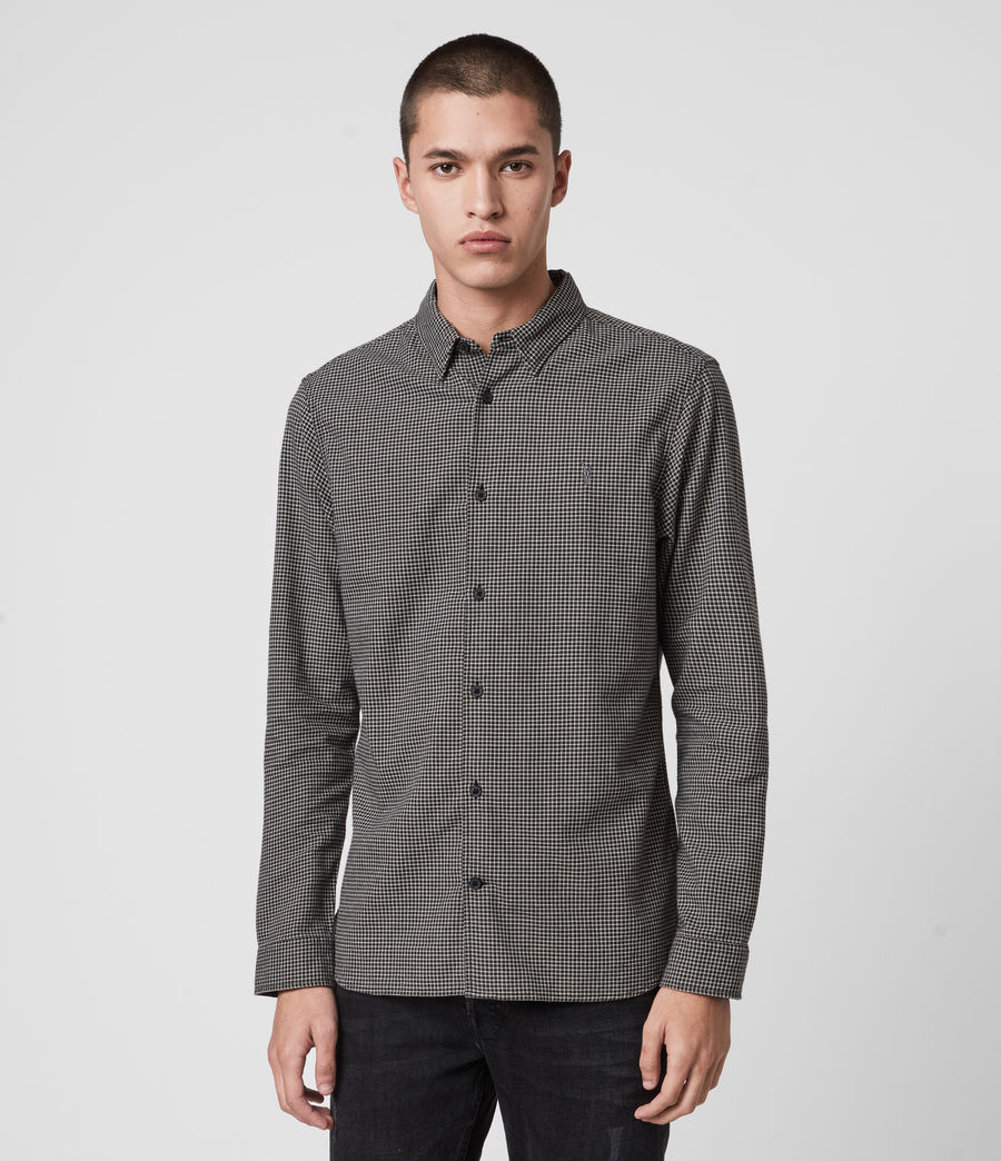 Mens Vander Shirt (black) - Image 1