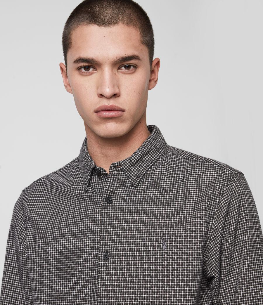 Hommes Vander Shirt (black) - Image 2